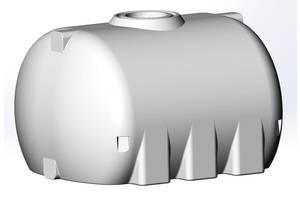 Бак, бочка 5000 л емкость усиленная для транспортировки воды, КАС перевозки белая пищевая G E