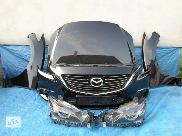 купить бу Бампер передний для легкового авто Mazda 6 2008-15 морда комплектная  в Львове