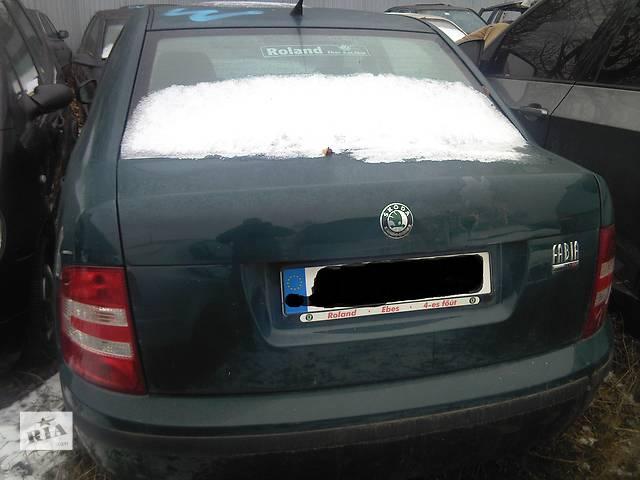 купить бу  Бампер задний для легкового авто Skoda Fabia в Ужгороде