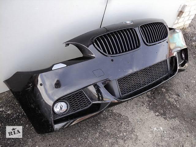 купить бу Бампер передний м-пакет BMW 5 F10 F11 оригинал м-стиль м-техник БМВ Ф10 Ф11 м-бампер М M м-обвес в Луцке