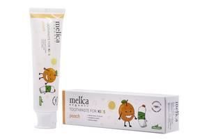 Детская зубная паста Melica Organic  Персик , 100 мл