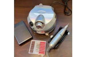 Фрезер профессиональный для маникюра и педикюра DM-202 Chrom (зеркальный), 65 Вт, 35000 об/мин.