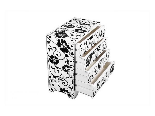 продам Комодик-шкатулка для украшений BST 18х9,5х20 см деревянный 670394 бу в Киеве
