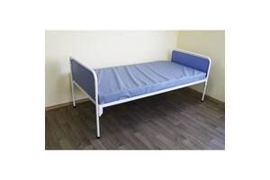 Кровать больничная с матрасом с антибактериальным покрытием, для стационаров, клиник и лечебных заведений