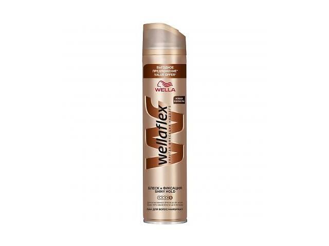 Лак для волос WellaFlex Блеск и Фиксация Суперсильная Фиксация 400 мл (4056800922680)