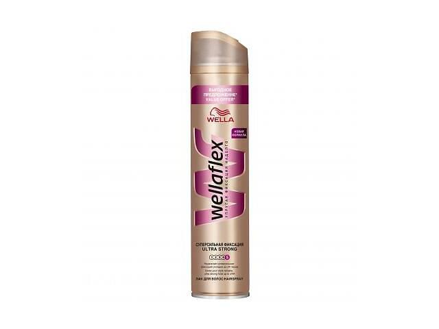 Лак для волос WellaFlex Супер сильная Фиксация 400 мл (8699568540992)