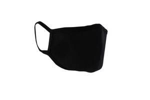 Маска многоразовая защитная тканевая хлопковая Black mask противовирусная FFP2 100 штук Черный (20148)