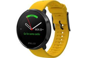 Мультиспортивные фитнес часы Polar Ignite Желтый/Черный M/L