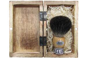 Помазок Hans Baier для бритья волос барсука