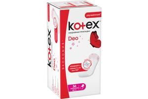 Прокладки ежедневные Kotex Ultraslim Deo, 56 шт