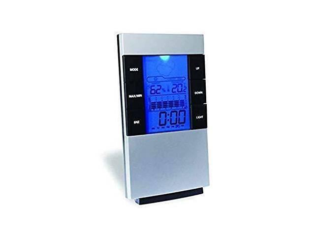 Термогигрометр Kronos CX-506 (0°C... +50°C; 20%…95%) с календарём, часами и будильником (mdr_2927)
