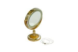 Зеркало настольное Illuminated JX 520 с подсветкой Dark Gold