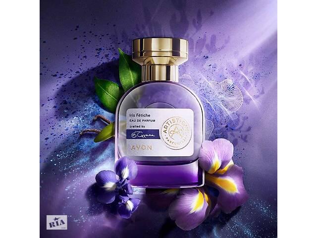 Женская парфюмерная вода Avon Artistique Iris Fetiche 50мл премиум стойкость цветочный древесно-мускусный аромат духи
