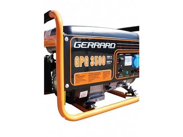 купить бу Бензиновая однофазная электростанция Gerrard GPG3500E в Киеве