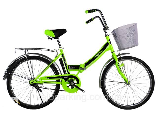 бу Городской складной велосипед Десна 24 (Украина) 2019 в Дубно (Ровенской обл.)