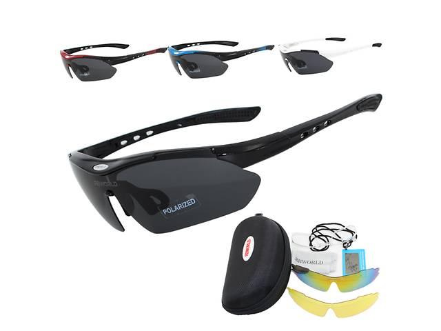 Спортивні окуляри з 3 лінзами& quot; Newboler& quot;- объявление о продаже  в Великій Березовиці