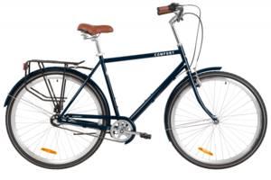 "Велосипед 28"" Dorozhnik COMFORT MALE планет. 2020 (синий)"