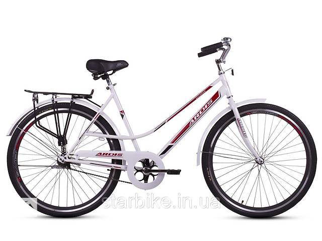 бу Велосипед ARDIS24 CITY-STYLE бело-красный в Харкові