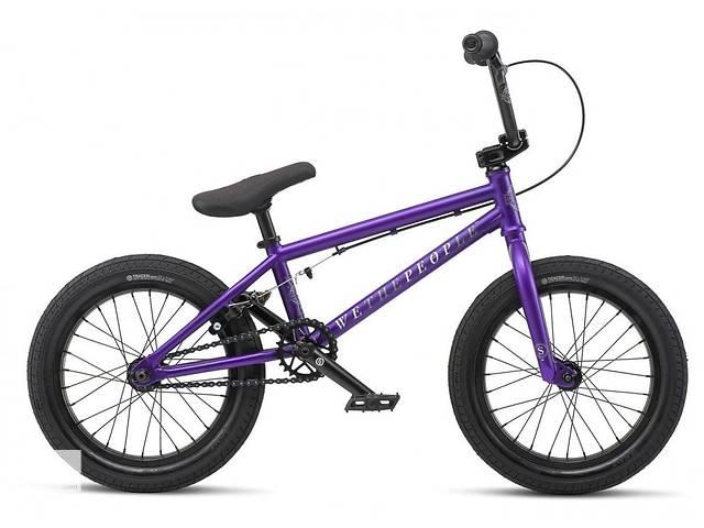 Велосипед WeThePeople BMX SEED 16 Matt purple 2019- объявление о продаже  в Киеве