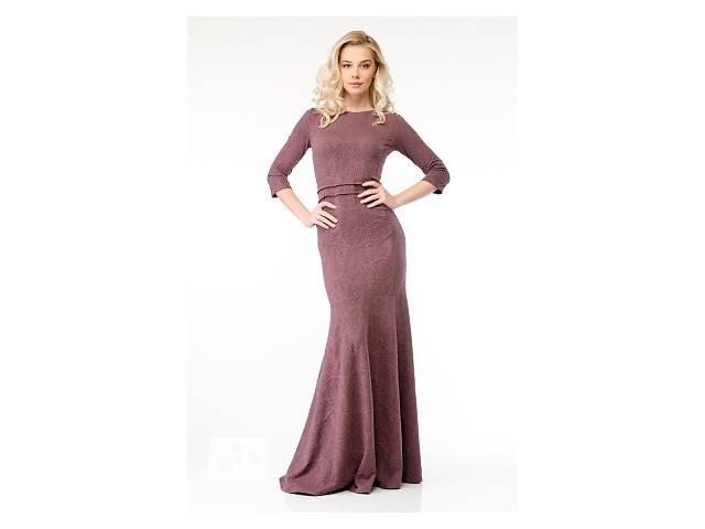 купить бу Бледно-фиолетовое платье арт.14143 в Киеве