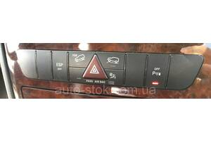 Блок кнопок торпеды Mercedes ML W164, 2007 г.в. A1648706210