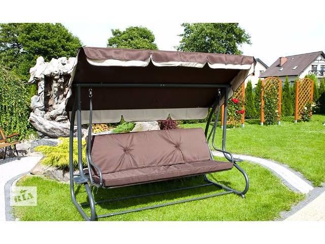 купить бу Садовая качеля Garden Relax с козырьком, 4-х местная. Нет в наличии в Львове