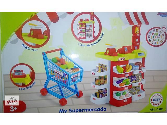 купить бу Большой детский магазин-супермаркет 1512, высота 95см в Одессе