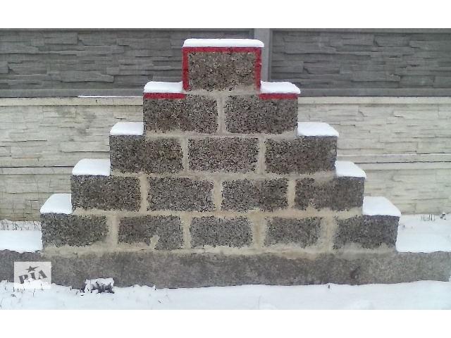 продам строительные конструкционные блоки АРБОЛИТ бу в Здолбунове