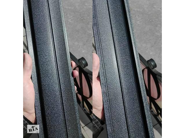 купить бу Штахетник Чорний Корея двосторонній рал 9005 мат 0,5 мм в Вінниці