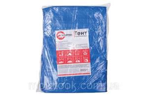 Тент водонепроницаемый, полипропиленовый (тарпаулин), 6*10 м с люверсами INTERTOOL AB-0610