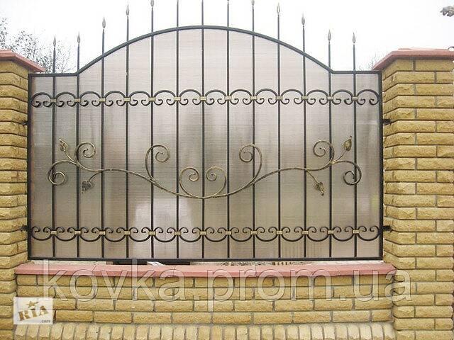 Забор кованый с поликарбонатом- объявление о продаже  в Ладыжине