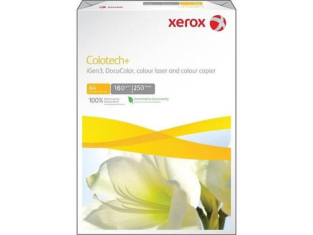 продам Бумага Xerox COLOTECH + (160) A4 250арк. AU (003R98852) бу в Киеве