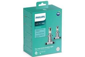 Автолампа PHILIPS H4 Ultinon LED+160%, 2 шт/компл. (11342ULWX2)