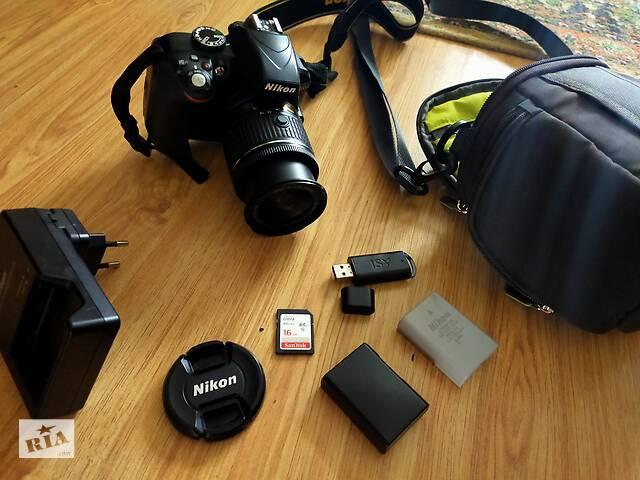 бу Б/у Nikon d3300 в Городенці