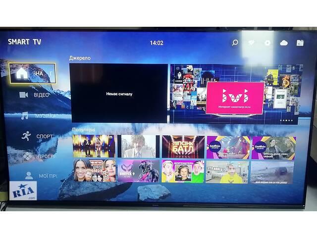 """Большой телевизор Bravis 50"""" UHD-50H7000 (UHD 4K/ Android/ Smart TV/ T2 тюнер)- объявление о продаже  в Киеве"""