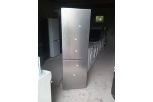 Бош - двох камерний холодильник сірого кольору б.у з Європи