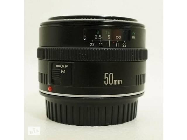 Canon EF 50mm F1.8 полтинник, NiftyFifty, полтос об'єктив- объявление о продаже  в Кривому Розі
