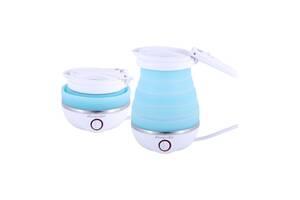 Чайник электрический складной Kamille голубой 0,8 л SKL44-226290