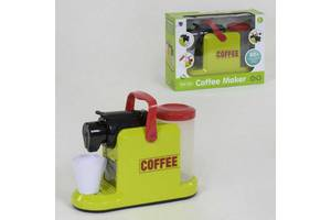 Детская игрушечная кофеварка XS - 19095световые и звуковые эффекты, течет водичка
