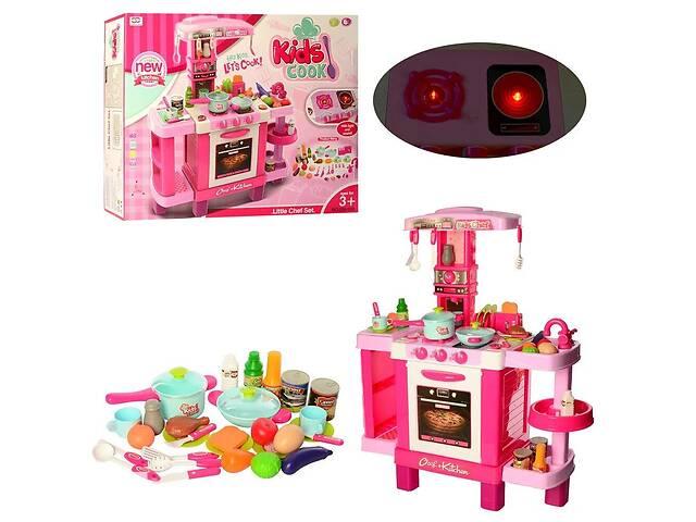 продам Детский игровой набор интерактивная кухня 008-938 плита, духовка, звук, свет, посуда, продукты бу в Львове