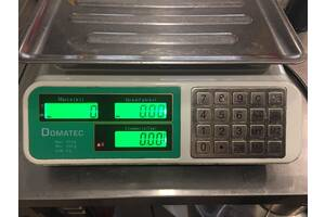 Электронные торговые весы на 50 кг Domotec