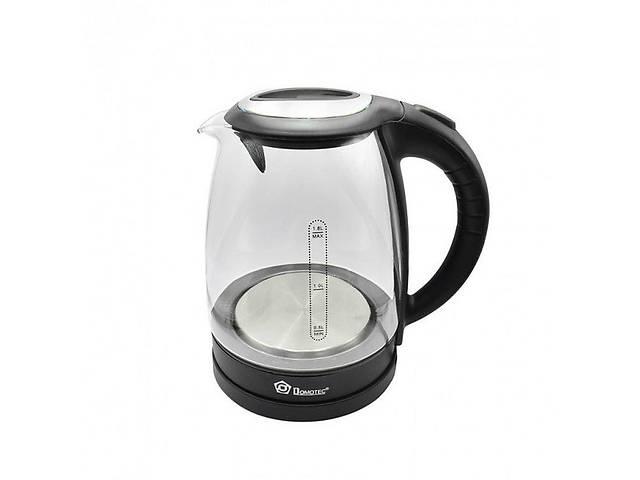 купить бу Электрический чайник Domotec Ms-8110 black в Харькове