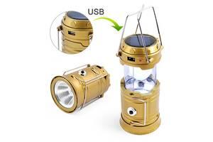 Фонарь лампа кемпинг 5800T-1W+6LED