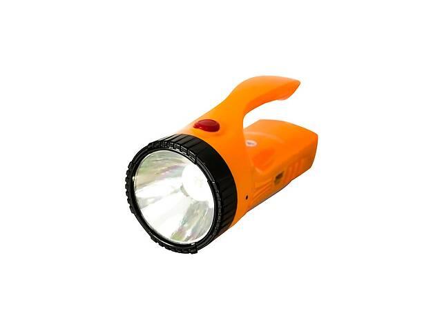 купить бу Мощный светодиодный аккумуляторный фонарь прожектор YAJIA переносной фонарь для охраны в Харькове