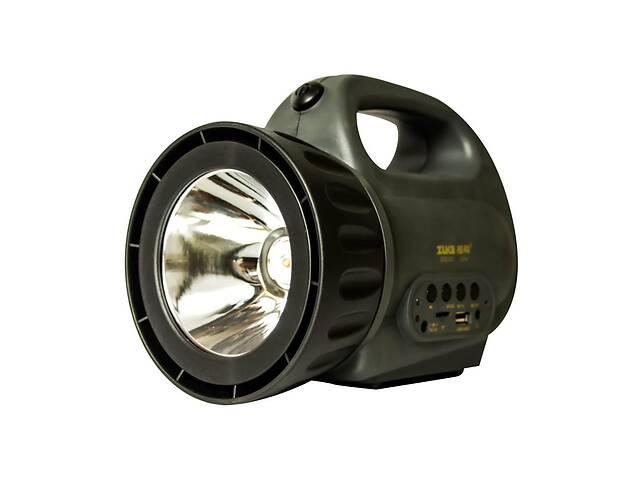 продам Мощный светодиодный аккумуляторный фонарь прожектор ZUKE 2181 переносной фонарь для охраны бу в Харькове