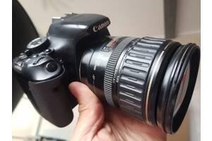 Фотоапарат зеркальний Canon 600D + 28-135 в гарному стані