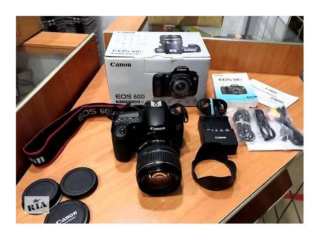 бу Фотоапарат Canon EOS 60D Kit в Кам'янець-Подільському