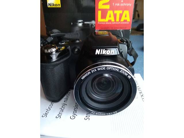 бу Фотоапарат Nikon Coolpix L120 Black в Києві