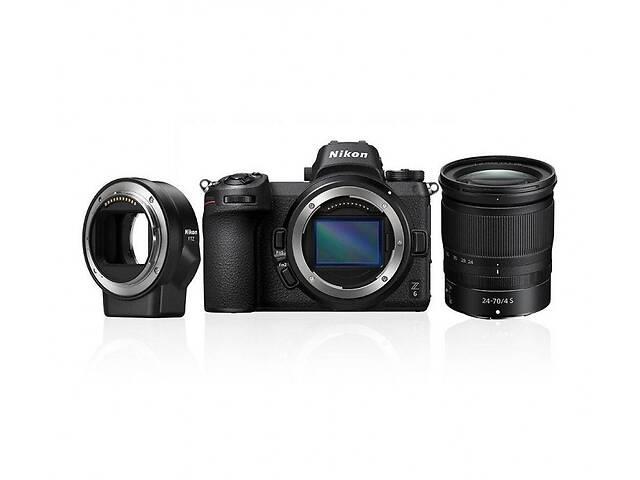 Фотоаппарат Nikon Z6 kit (24-70mm) + FTZ Mount Adapter- объявление о продаже  в Харкові