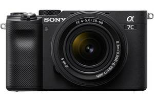 Фотоаппарат SONY Alpha a7C + 28-60mm Black (ILCE7CLB.CEC)
